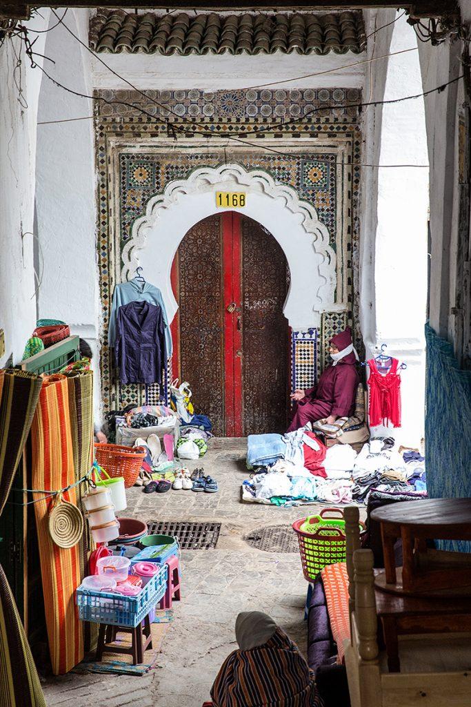 medyna,tetuan,maroko