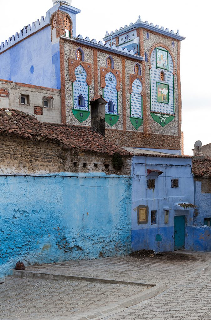 Szewszawan,Maroko,medyna,budynek