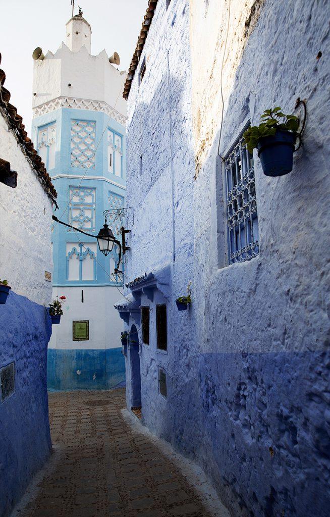 Szewszawan,Maroko,medyna,meczet