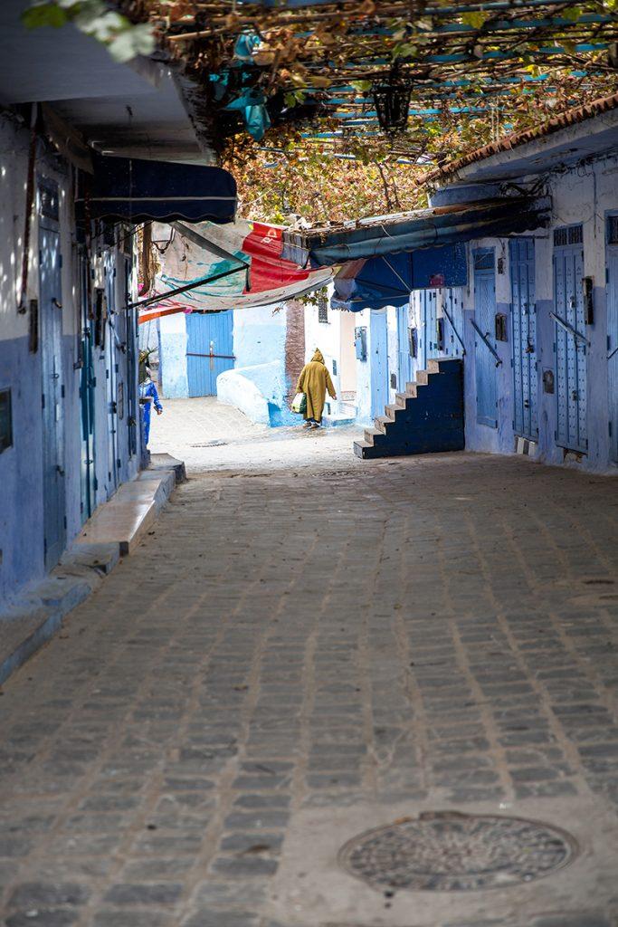 Szewszawan,Maroko,uliczka,medyna