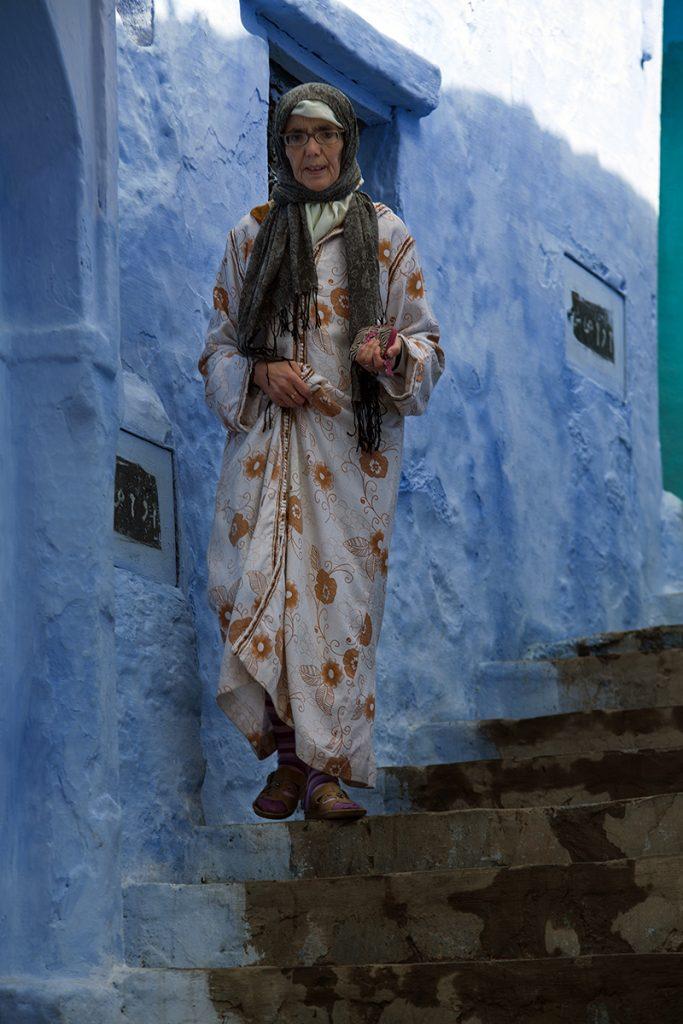 Szewszawan,Maroko,medyna,kobieta