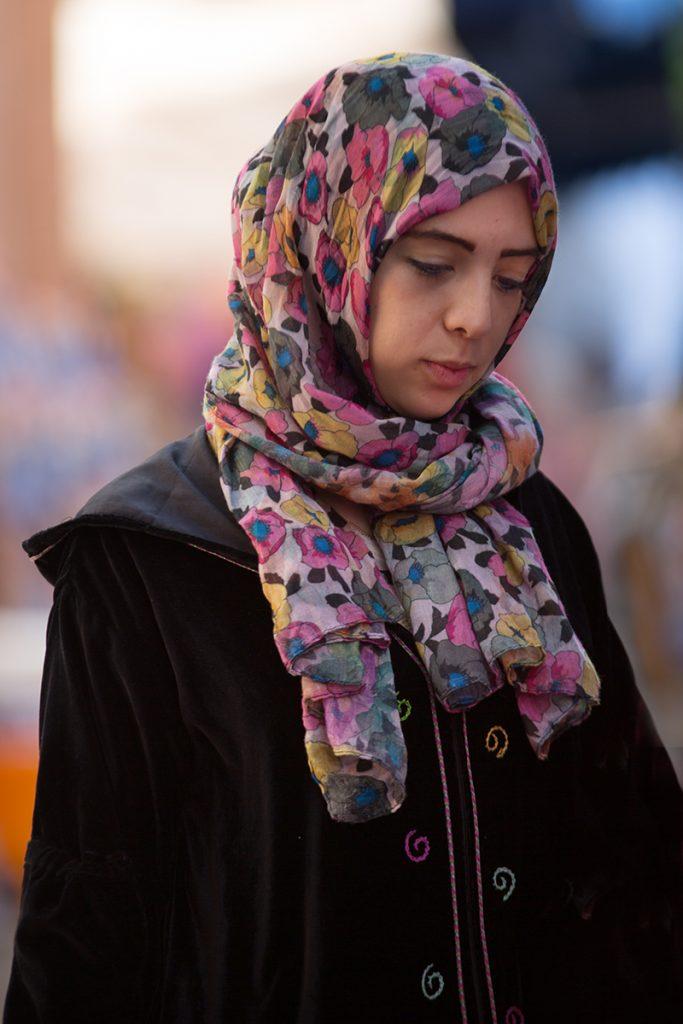 Szewszawan,Maroko,medyna,dziewczyna