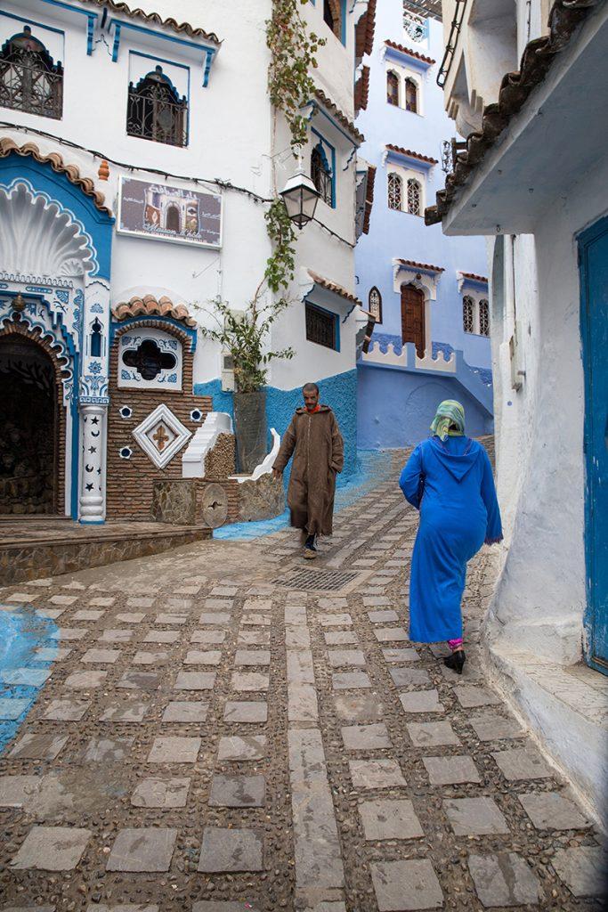 Szewszawan,Maroko,medyna,ludzie
