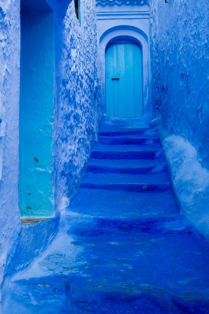 Szewszawan,Maroko,medyna,schody