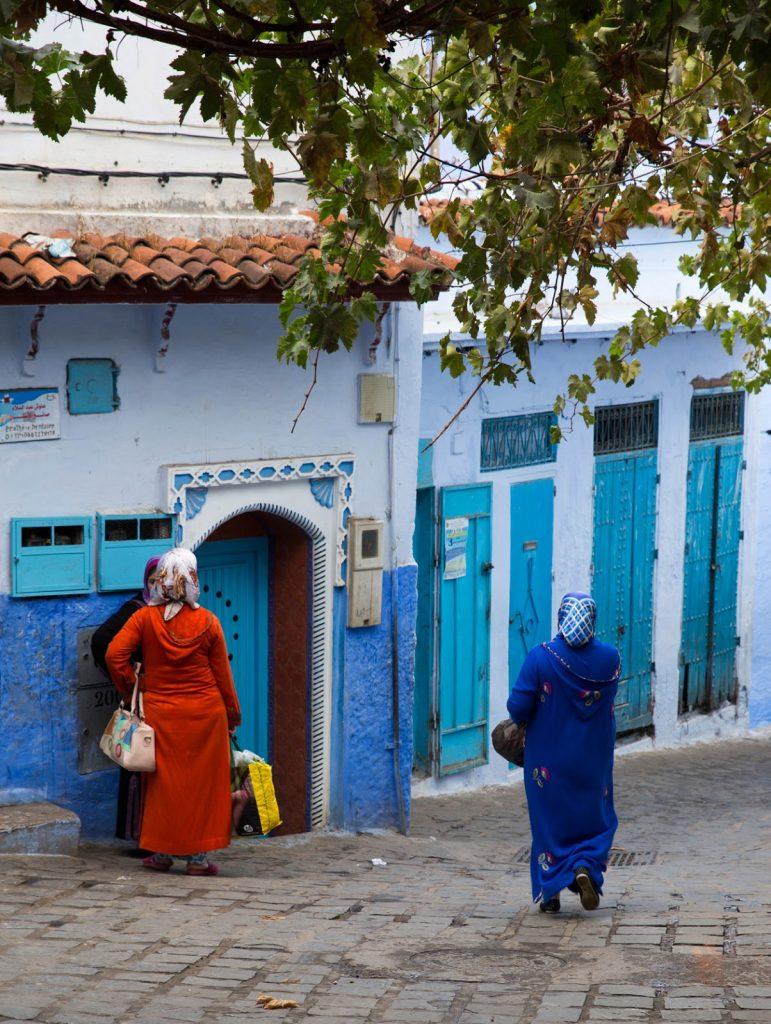 Szewszawan,Maroko,medyna,kobiety
