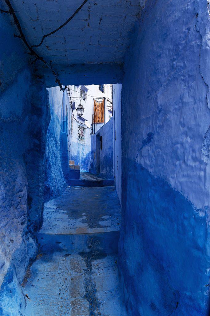 Szewszawan,Maroko,medyna,uliczka