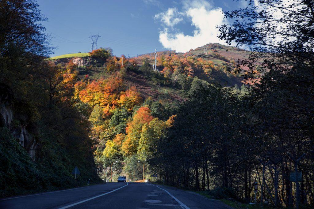 droga do Ardabil,Iran,granica z Azerbejdżanem