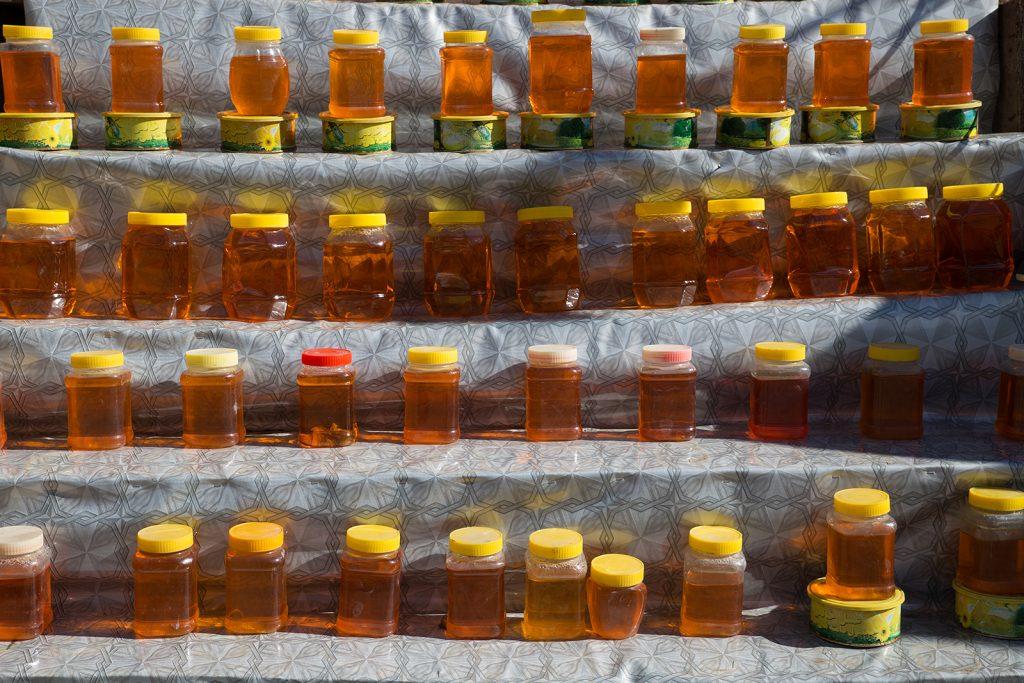 droga do Ardabil,Iran,miód