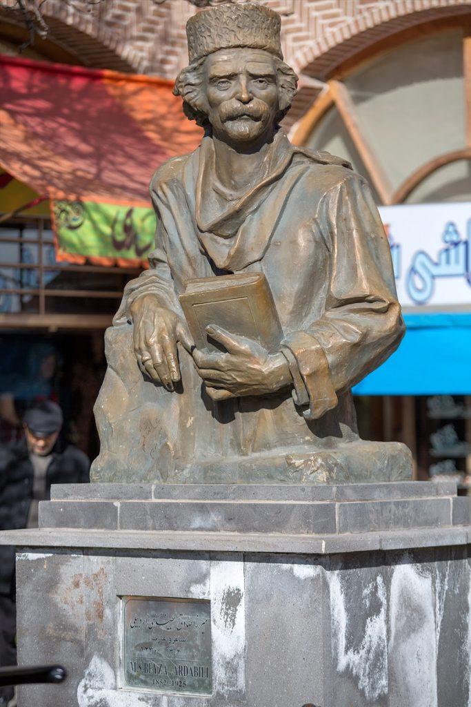 Ardabil,pomnik,Iran