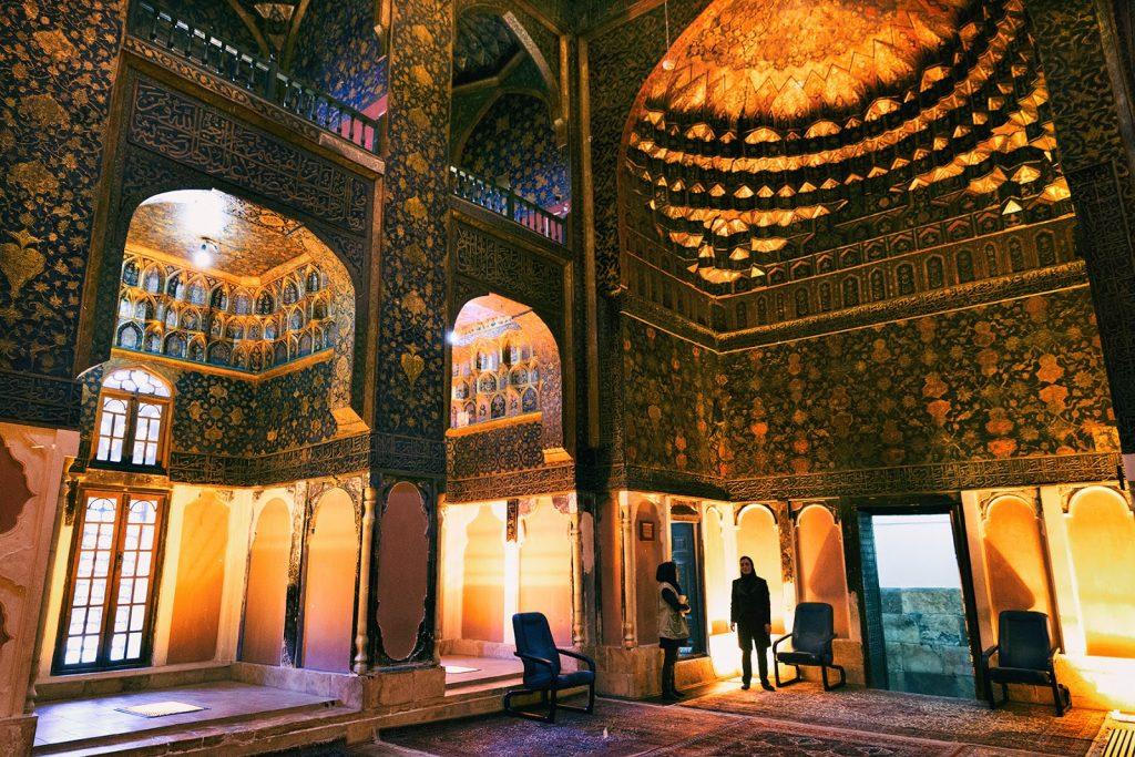 Kompleks świątynny Sheikh Safi-ad-Din-e-Ardabili-wnętrze,Iran