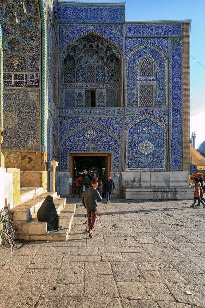 Wejście na bazar,Isfahan,Iran