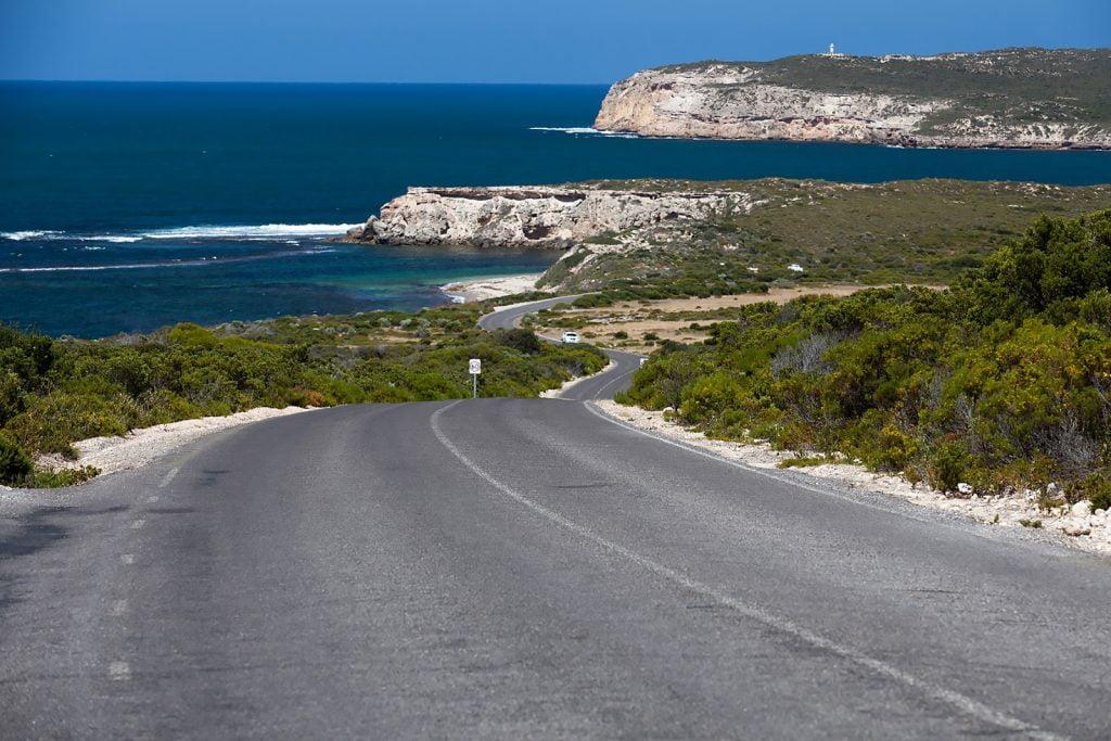 wybrzeże,droga,ocean,park narodowy,krajobraz
