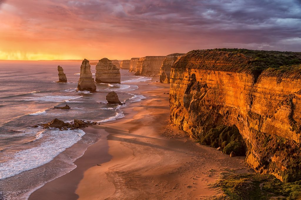 12 Apostołów,Great Ocean Road,Australia