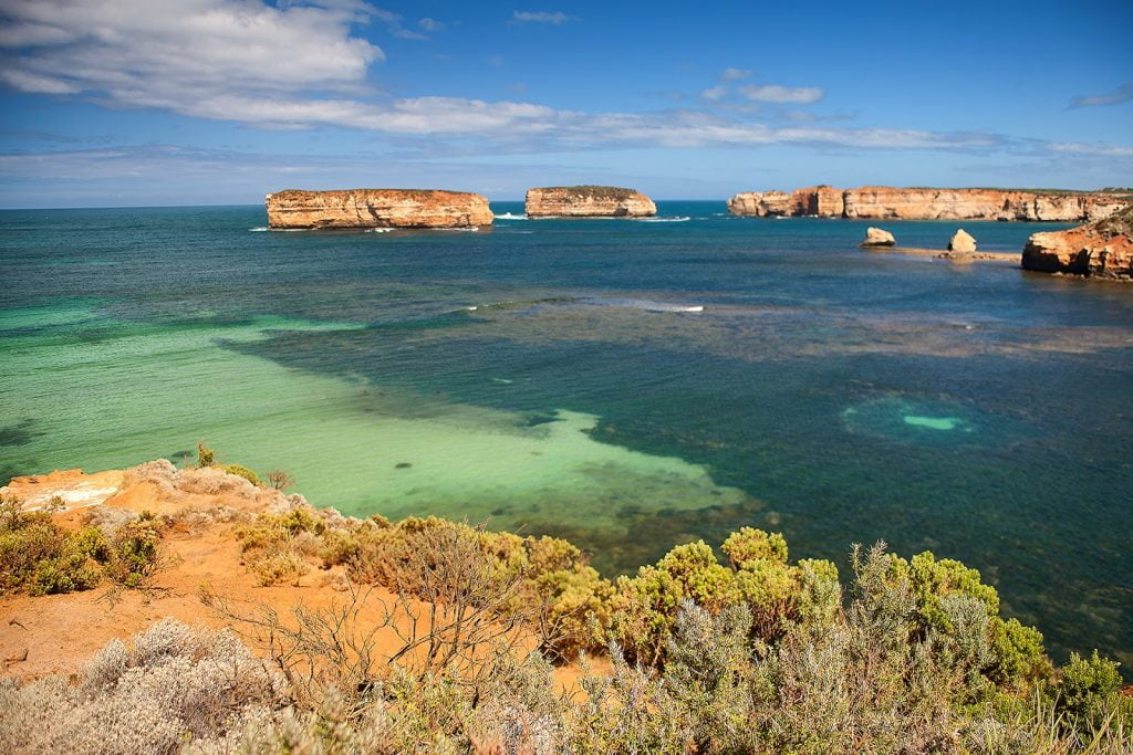 Bay of Islands,Great Ocean Road,formacje skalne