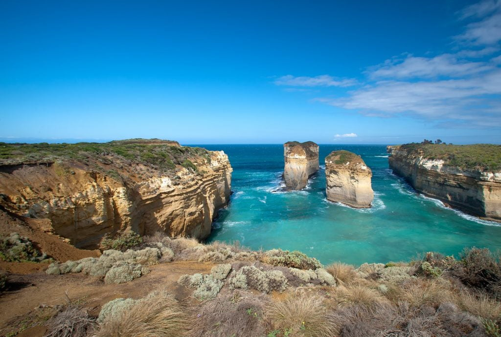 Island Arch,Great Ocean Road,formacje skalne
