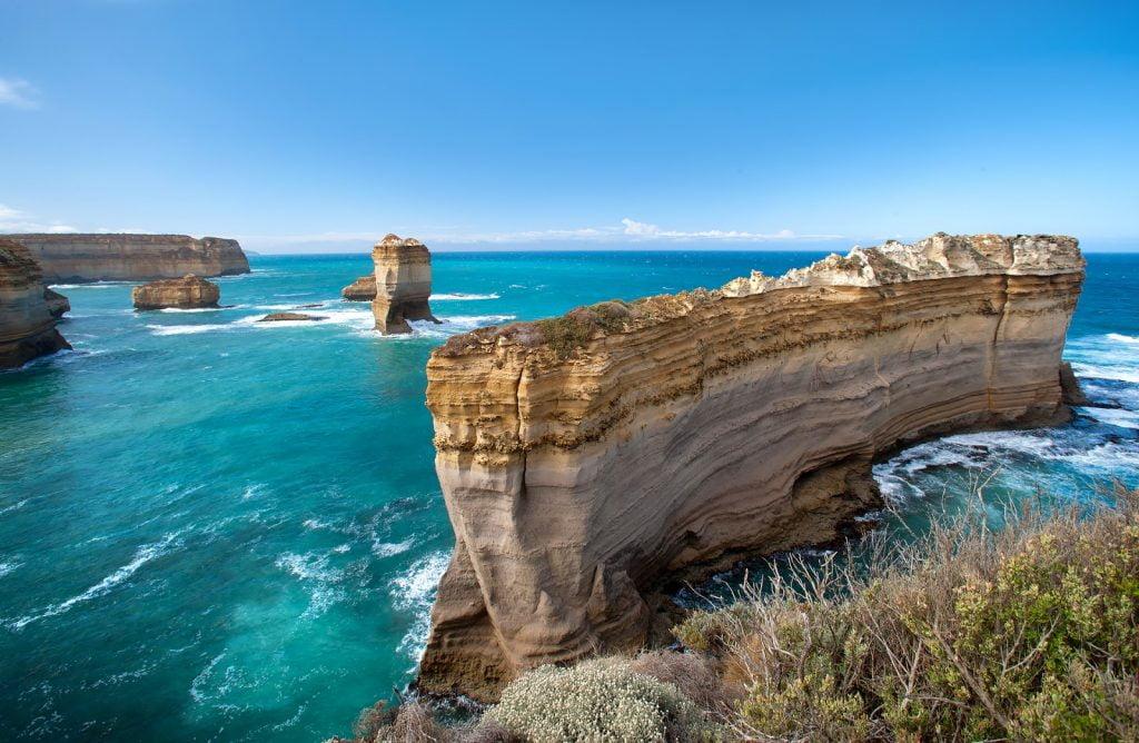 Razorback,Great Ocean Road,formacje skalne