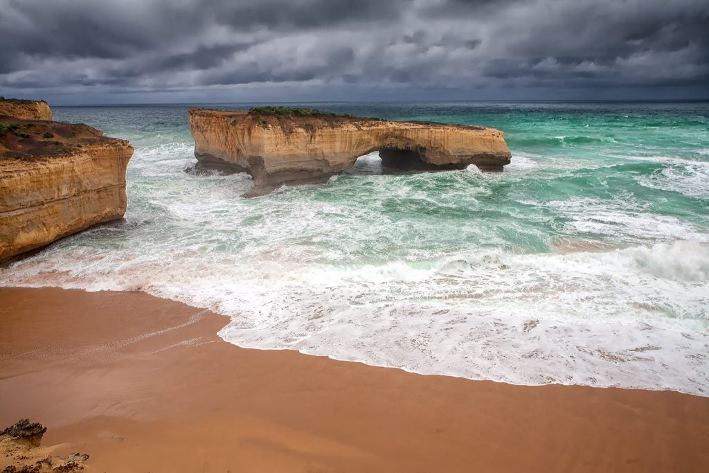 London Bridge,Great Ocean Road,formacje skalne