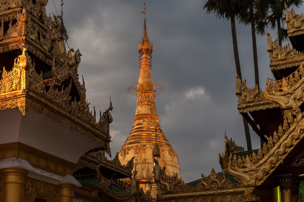 Naung Taw Gyi Pagoda ,Birma,Myanmar